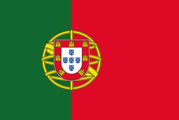Portugal Flag illustration vector