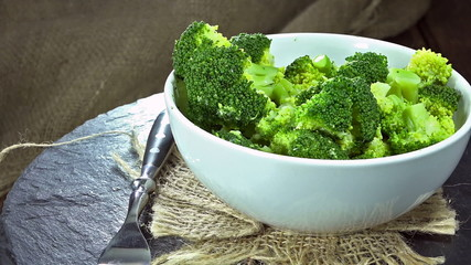 Cooked Broccoli (loopable)