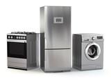 Home appliances. Set of household kitchen technics - 73834244