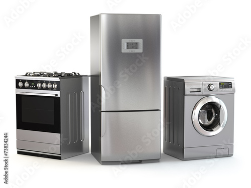 Home appliances. Set of household kitchen technics - 73834244