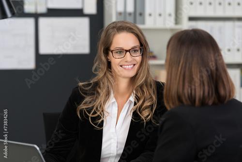 Leinwandbild Motiv business-coaching