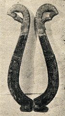 Horse collar (Latvia, 19th century)