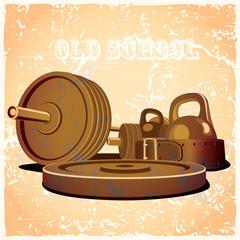 old school gym hot