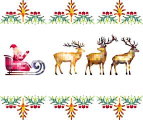 Mosaic Santa