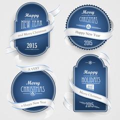 Christmas emblems