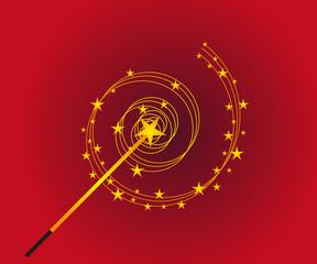 Magic wand background