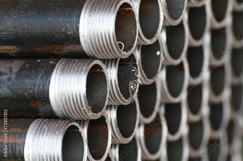Unfinished Threaded Pipes - 73837813