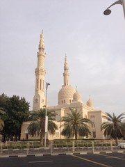 mosque in Dubai,U.A.E.
