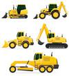 car equipment for construction work vector illustration - 73838418