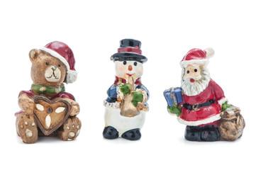 Drei Weihnachtsfiguren