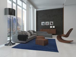 Architectural Lounge Room Design