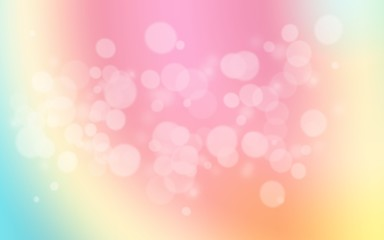 colorful pastel holiday bokeh. Abstract Christmas background