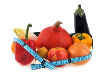 Régime fruits et légumes