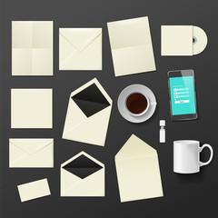 Corporate identity templates.