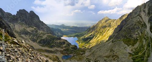 View to Black Pond, Tatra mountains - 73845294