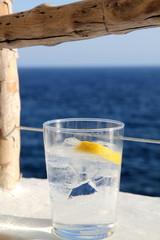 Gin tonic, Cova d en Xoroi,  Balearic islands, Spain
