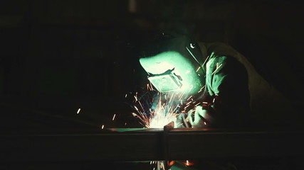 Welding in the production