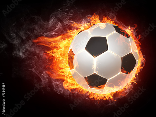 canvas print picture Soccer Ball