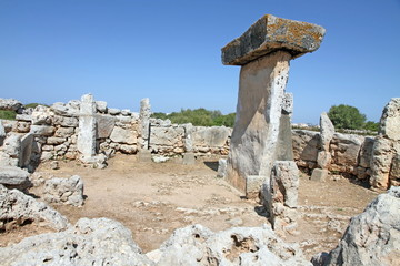 Prehistoric settlement of Trepuco, Es Castell, Minorca, Spain