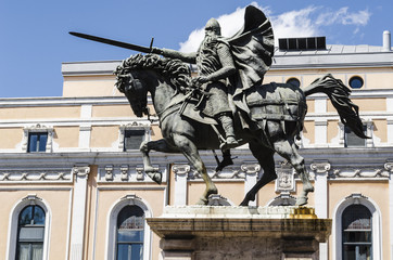 Statue in Burgos