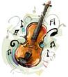 Vintage Violin - 73849286