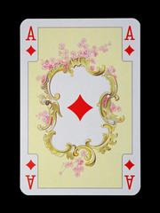 Spielkarten in Luxus und Nostalgie - Karo Ass