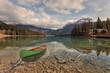 Canoe on Emerald Lake