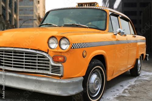 obraz PCV Taxi