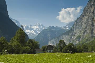 Lauterbrunnen, valle suizo