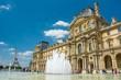 Leinwandbild Motiv Musée du Louvre à Paris, France