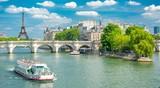 Berges de la Seine à Paris, France