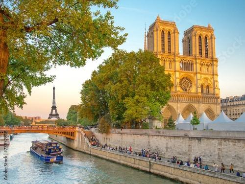 Leinwandbild Motiv Notre-Dame de Paris, France