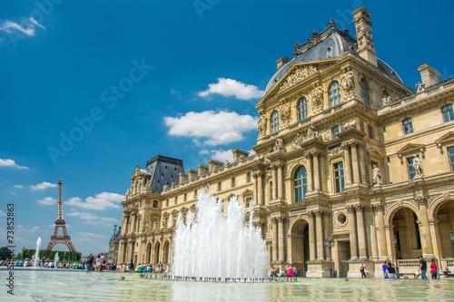 Musée du Louvre à Paris, France - 73852863