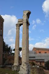 Roman Forum, Tempel, Seite