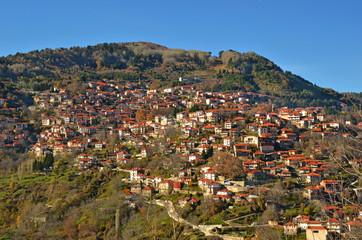 Metsovo greek winter tourist resort