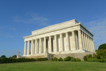 Lincoln Memorial in the morning in Washington DC