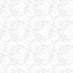 Seamless background, pattern of haotic placed gray circles