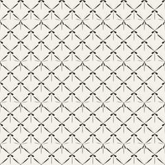 Retro abstract mesh seamless pattern. Vector illustration