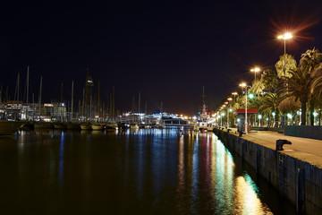 Marina Port Vell in Barcelona, Spain
