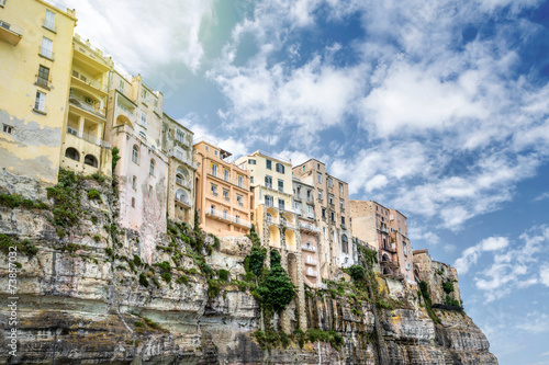 Tropea old town, Calabria, Italy - 73857032