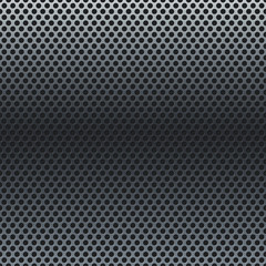 Silver metallic grid background