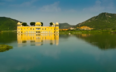 Jal Mahal palace horizontal view