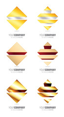 Luxury logo design pack