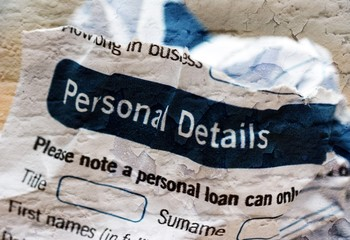 Form- personal details
