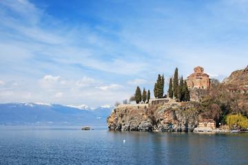 Sveti (Saint) Jovan Kaneo Church on Lake Ohrid