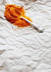 cinnamon on paper