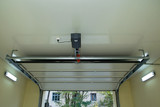 Automatic garage door inside