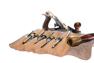 Joiner tools on white background.