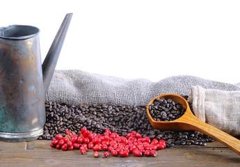 Coffee beans..
