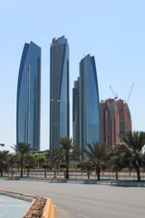 Skyscrapers of Abu Dhabi